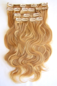 Instant Hair 7 PC Clip Ons Soft Body 16""