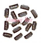 1 Inch Brown Clips - Set of 12